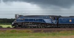 Sir Nigel Gresley (hanley27) Tags: coast main railway steam line east locomotive sir nigel overton gresley