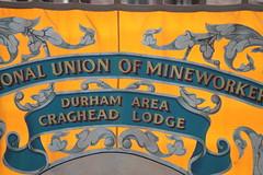 NUM Durham Area Craghead Lodge (ewjz31) Tags: uk banner countydurham northeastengland craghead theenemywithin