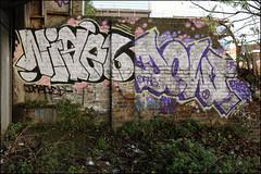 Nigel / Dowt (Alex Ellison) Tags: nigel tnf dowt dfn hackneywick eastlondon urban graffiti graff boobs