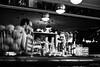 Le barman et la serveuse  [Explored 2016 December 30] (LACPIXEL) Tags: barman serveuse waitress camarera bar café comptoir counter barra mostrador rue street calle urbain urban urbano paris capitale france capitalcity noiretblanc blackandwhite blancoynegro monochrome inside intérieur interior fuji fujifilm fujinon flickr lacpixel