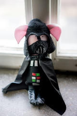DarthBaconVader (Rafau_) Tags: darth vader starwars bacon pig toy funny