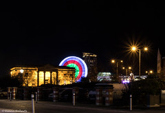 Lights Alive (Eiona R. [Busy over the Weekend]) Tags: swansea wales unitedkingdom gb wfc smq longexposure