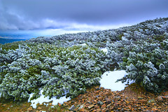 The breath of winter (stanislaff) Tags: samsungnx1224mmf4056 samsungnx1224mmf456 samsung samsungnx30 chechmountains czech ciecam rawtherapee landscape cold winter wavelet ridge