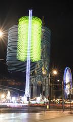 Edinburgh Christmas Market (lunaryuna) Tags: scotland capital edinburgh night christmasmarket funfairride carousel le longexposure fun nightlights nightphotography nocturnalphotography scottmonument colours lights lunaryuna