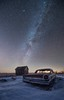 3 Galaxies (HomeGroenPhotography) Tags: hifromsd space abandoned galaxie500 galaxy andromeda stardustandrust southdakota astrophotography milkyway ford winter