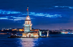 The Maiden's Tower (Stuck in Customs) Tags: istanbul stuckincustomscom treyratcliff turkey treyratcliffcom stuckincustoms temple horizontal colour color day daytime dailyphoto trey ratcliff rr symmetry symmetrical outdoor outdoors outside hdr hdrphotography hdrphoto aurorahdr2017 macphun mosque white blue grey black brown gold sky clouds building worship religion people october 2016 p2016 architecture sunset dusk orange red yellow purple glow lighting tower ocean beach sea waterfront sony ilce7rm2 landscape seaside shore coast water
