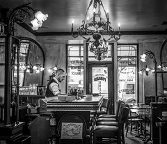 The Bartender (tritranla) Tags: figarobistro losangeles candid street urban men he