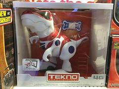 Robotic T-Rex (splinky9000) Tags: kingston ontario cataraqui centre toys store tekno robot dinosaur tyrannosaurus rex
