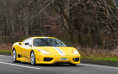 Yellow! (Alexbabington) Tags: ferrari 360 challengestradale yellow giallomodena cars car supercar supercars