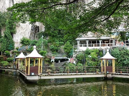Lake Outside Batu Caves