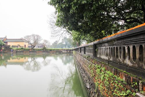 Forbidden city in Hue