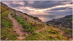 The coastal path (Explored) (andy.muir12) Tags: jurassiccoast chapmanspool seascape dorset southwestcoastalpath