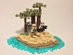 Scarif Vig (Elven Ranger) Tags: stormtrooper shoretrooper lego starwars rogueone