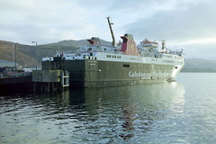Western Isles Ferry - December 2003 (Rail and Landscapes) Tags: caledonian macbrayne