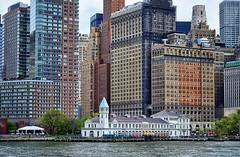 Manhattan Cityscape (` Toshio ') Tags: toshio newyorkcity manhattan newyork city america unitedstates river building architecture fujixe2 xe2