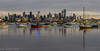 Melbourne just as the sun comes up (Gary Eastwood) Tags: sea waterfront sunrise boats melbourne earlylight cityviews skyline firstlight
