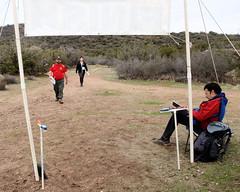 053 More Finishers Approch (saschmitz_earthlink_net) Tags: 2017 california orienteering vasquezrocks aguadulce losangelescounty laoc losangelesorienteeringclub