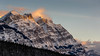 Mt. Wilson, Banff National Park (donrawson) Tags: mountains jasper canadianrockies winter saskatchewanrivercrossing sunset mtwilson banffnationalpark