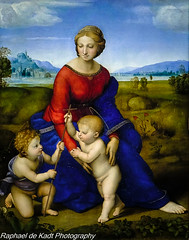 Raphael's Madonna del Prato at The Kunsthistorisches Museum In Vienna