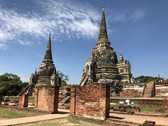 Wat Phra Sri Sanphet (raffaele pagani) Tags: parcostoricodiayutthaya phranakhonsiayutthaya พระนครศรีอยุธยา thailandia thailand unesco unescoworldheritagesite unescopatrimoniomondialedellumanità patrimoniodellunesco patrimoniomondialedellumanità canon