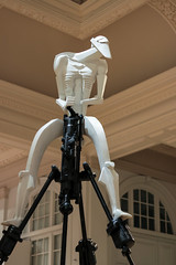 Drill sarge (T3MPL3) Tags: ryan gander night museum birmingham art gallery canon 70d 50mm indoor interior exhibition city uk england bham