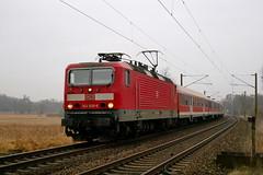 P1040942 (Lumixfan68) Tags: eisenbahn züge loks baureihe 143 elektroloks deutsche bahn db regio puma modus wagen