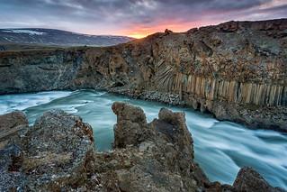 Aldeyjarfoss Gorge