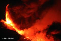 Etna _ INFERNO (piero.mammino) Tags: etna sicilia sicily vulcano volcano lava magma fuoco fire rosso red esplosione explotion colata flow eruzione eruption inferno hell fantasticnature wonderworld natureandnothingelse ☯laquintaessenza☯