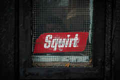 Squirt (CarusoPhoto) Tags: john caruso carusophoto pentax ks2 squirt brick wall black red natural light beautiful banal mundane ordinary everyday hd pentaxda l 1850mm f456 dc wr re hdpentaxdal1850mmf456dcwrre chicago city urban abandoned closed old vintage retro