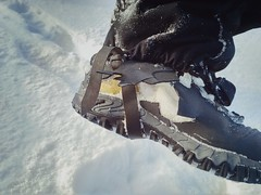 Пока черное-белое снова не становится цветным и ботинки лопаются от мороза.