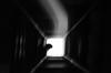 1962-1966 (peladomal ) Tags: light bw argentina buenosaires hole monochromatic bn stairway escalera nuñez hueco monocromatico