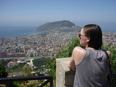 Widok na Alanyie | View of Alanya