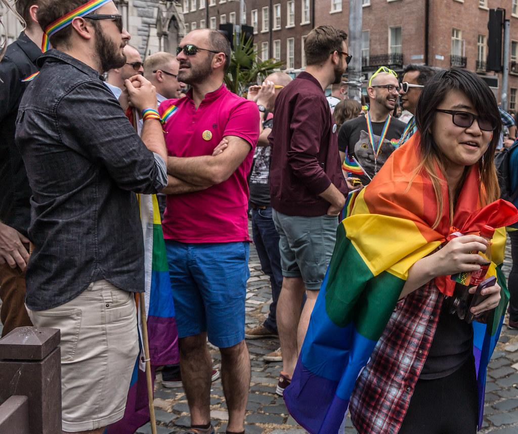 DUBLIN 2015 LGBTQ PRIDE PARADE [WERE YOU THERE] REF-106025