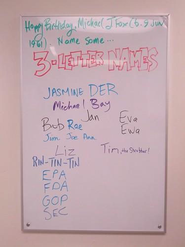 3-Letter Names