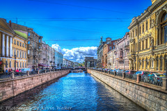 Griboyedov Canal (Kev Walker ¦ 8 Million Views..Thank You) Tags: stpetersburg russia hdr 2015 kevinwalker