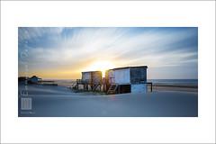 sunset on the chanel (Emmanuel DEPARIS) Tags: mer pose de long exposure du filter lee chalet cote pas plage emmanuel calais manche nord bleriot longue dopale deparis nd110