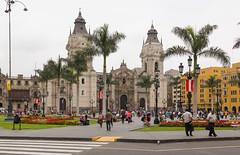 Plaza de Armas, Lima, Peru (maxunterwegs) Tags: peru church cathedral lima dom catedral kirche cathdrale plazamayor plazadearmas prou catedraldelima