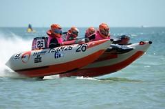 Thundercats are GO! (nickitson) Tags: sea water race speed plane speedboat fast racing portsmouth powerboat southsea racer thundercat zapcat nickitson team26 nikond7000 rkmarine