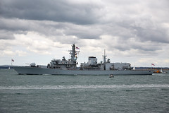St Albans (Bernie Condon) Tags: sea water boat military navy vessel solent portsmouth frigate warship stalbans southsea rn royalnavy asw type23 hmnb