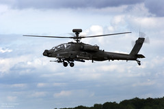 Apache Gunship 2 (ChrisUK27) Tags: clouds army fly flying stem technology display aviation military flight helicopter crew boeing pilot weapons raf aerospace flypast
