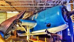 Blue (littlehall974) Tags: blue plane charleston wars bomber ussyorktown