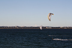 2015 Sydney: Botany Bay #24 (dominotic) Tags: beach water plane airplane boat yacht jet sydney australia nsw newsouthwales watersports tasmansea botanybay tanker sydneyairport brightonlesands portbotany 2015 penalcolony airportrunway sydneykingsfordsmithairport australianpenalsettlement