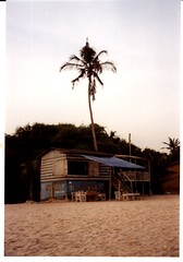 Beach bar, near Accra
