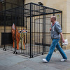 Tue 4-Aug (216 / 365 / 2015) - Walking past the caged tiger lambanana (Steev McAlister) Tags: sculpture statue day tiger fineart event 365 lambanana dates statuary edition 216 artistry day216 2015 216365 day216365 365the2015edition 3652015 4aug15