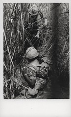 Marine Lends a Helping Hand, 1969 (Marine Corps Archives & Special Collections) Tags: river marine war jonathan vietnam corps marines abel operation dawson