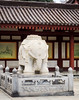 Big Wild Goose Pagoda-5720 (kasiahalka (Kasia Halka)) Tags: unescoworldheritagesite giantwildgoosepagoda bigwildgoosepagoda buddhistpagoda tangdynasty 652 morningbell godofwealth xuanzang xian china