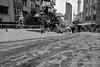Snowy street (`ARroWCoLT) Tags: streetphotography sokak istanbul mosque cami people blackwhite bw art human arrowcolt monochrome nokia lumia 1020 bnwdemand bnwpeople bnw bnwstreet ishootpeople perspective blackandwhite outdoor skyscraper kar karlısokak snow snowystreet mobiography road architecture