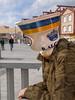 Cuerpo de piedra, cabeza hueca (bubilla2002) Tags: surrealismo cabeza adobe piedra textura