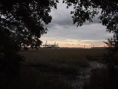 Wando River Sunset (BunnyHugger) Tags: charleston dorothybkearnspark letterboxing southcarolina wandoriver