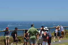 """""""Sydney to Hobart yacht race 2016"""" (Boxing Day) - spectators at """"The Gap lookout (Lighthouse reserve - Vaucluse NSW)"""" (nicephotog) Tags: sydney hobart yacht race 2016 boxing day spectators gap lookout lighthouse reserve vaucluse nsw ocean sea boat sailing spinnaker flotilla australia"""